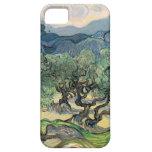 Los olivos, Vincent van Gogh iPhone 5 Carcasas