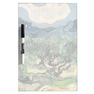 Los olivos, Vincent van Gogh Pizarra