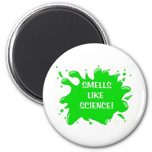 los olores tienen gusto de ciencia imán redondo 5 cm