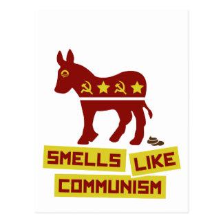 Los olores tienen gusto de comunismo postal