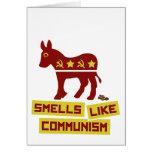 Los olores tienen gusto de comunismo tarjetón