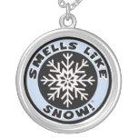 ¡Los olores tienen gusto de nieve! Collar