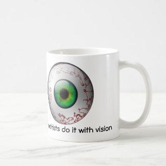 Los optometristas lo hacen con la taza de la