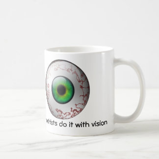 Los optometristas lo hacen con la taza de la visió