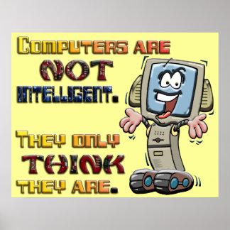 Los ordenadores piensan solamente que son intelige impresiones