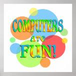 Los ordenadores son diversión