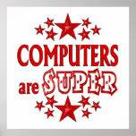 Los ordenadores son estupendos impresiones
