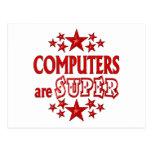 Los ordenadores son estupendos tarjetas postales