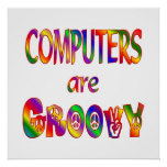 Los ordenadores son maravillosos poster
