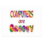 Los ordenadores son maravillosos tarjeta postal