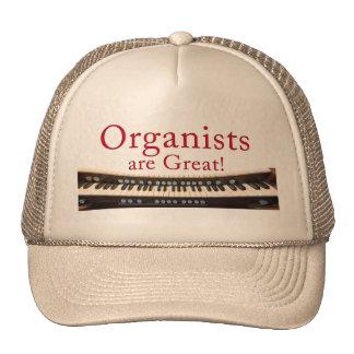Los organistas son gran gorra - color beige