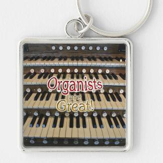 Los organistas son gran llavero