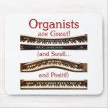 Los organistas son gran Mousepad Alfombrillas De Ratón