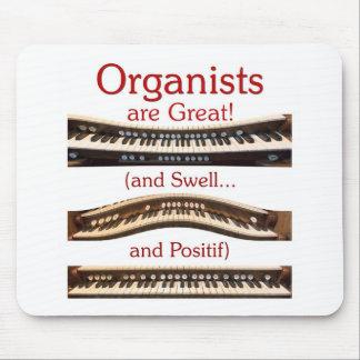 Los organistas son gran Mousepad