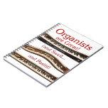 Los organistas son grandes - las letras rojas cuadernos