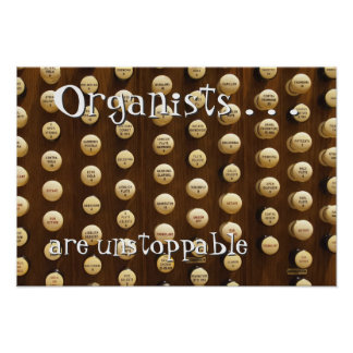 Los organistas son imparables impresiones