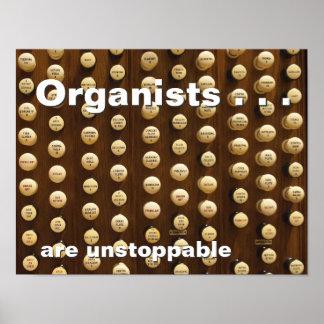 Los organistas son imparables poster