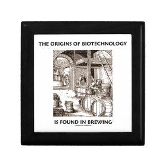 Los orígenes de la biotecnología se encuentran en cajas de regalo