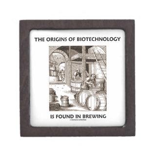 Los orígenes de la biotecnología se encuentran en cajas de recuerdo de calidad