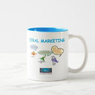 Los orígenes de la comercialización viral taza de dos tonos