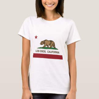 Los Osos california state flag T-Shirt