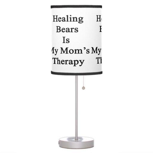 Los osos de la cura son la terapia de mi mamá