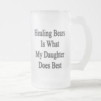 Los osos de la cura son lo que hace mi hija mejor tazas de café
