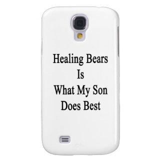 Los osos de la cura son lo que hace mi hijo mejor