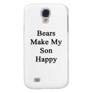 Los osos hacen a mi hijo feliz