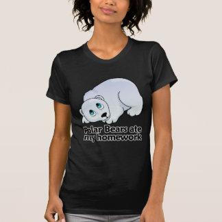 Los osos polares comieron mi preparación camisas