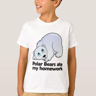 Los osos polares comieron mi preparación remeras