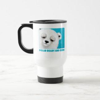 Los osos polares son frescos - taza linda