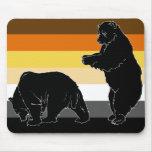 Los osos serán osos Mousepad Tapete De Ratones