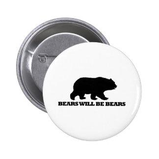 Los osos serán osos pins
