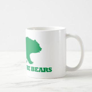 Los osos serán osos taza clásica