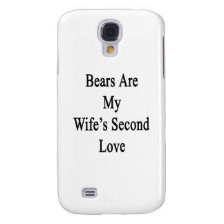 Los osos son el amor de mi esposa en segundo lugar