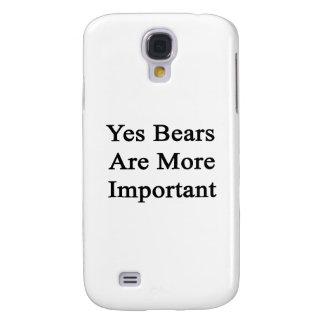 Los osos son sí más importantes