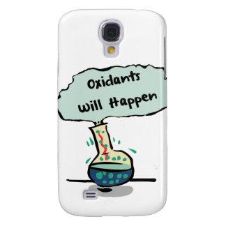 Los oxidantes suceden - humor de la química