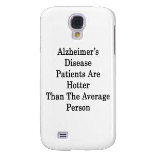 Los pacientes de la enfermedad de Alzheimer son má
