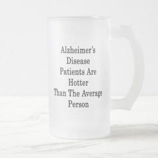 Los pacientes de la enfermedad de Alzheimer son má Taza De Café