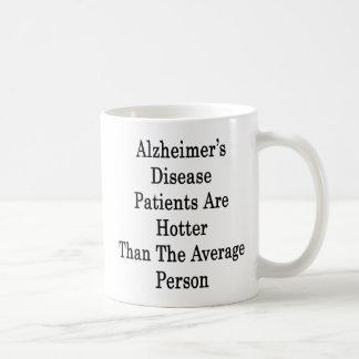Los pacientes de la enfermedad de Alzheimer son má Tazas