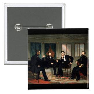 Los pacificadores con Abraham Lincoln Pin