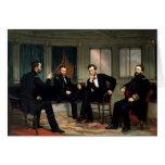 Los pacificadores con Abraham Lincoln Felicitaciones