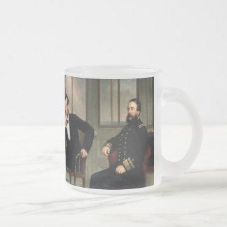 Los pacificadores con Abraham Lincoln Tazas De Café