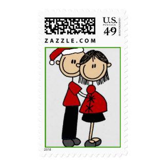 Los padres 2 sean navidad sello postal