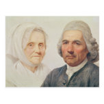 Los padres del artista (aceite en lona) postales