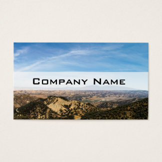 Los Padres National Forest Business Card