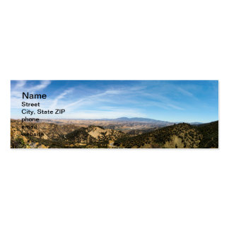 Los Padres National Forest Double-Sided Mini Business Cards (Pack Of 20)