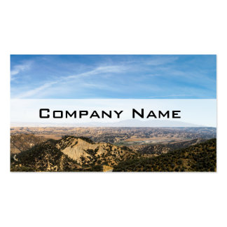 Los Padres National Forest Double-Sided Standard Business Cards (Pack Of 100)