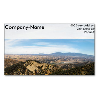 Los Padres National Forest Magnetic Business Cards (Pack Of 25)